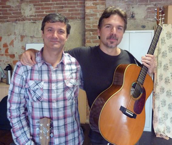 Tullio Bellocco con Paolo Sereno